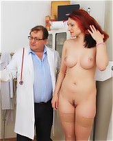 Pretty Beatrix gets more than a wife gyno at the clinic